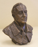 Bust of President Franklin Delano Roosevelt