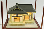 Miniature Japanese teahouse