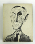 Caricature of Mike Mansfield