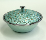 Turquoise and Silver Bowl