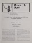 Research Note, February 1985 by Brian Kenner and Stephen F. McCool