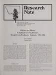 Research Note, July 1988