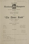 The Dover Road, 1923 by State University of Montana (Missoula, Mont.). Montana Masquers (Theater group)