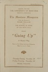 Going Up, 1923 by State University of Montana (Missoula, Mont.). Montana Masquers (Theater group)