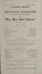 Mary, Mary Quite Contrary, 1929