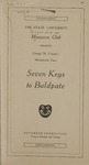 Seven Keys to Baldpate, 1920
