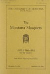 The Bad Man, 1926 by State University of Montana (Missoula, Mont.). Montana Masquers (Theater group)