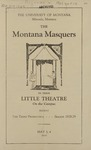The Whiteheaded Boy, 1929 by State University of Montana (Missoula, Mont.). Montana Masquers (Theater group)