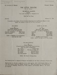 The Groove; Riders to the Sea; The Dear Departed, 1928 by State University of Montana (Missoula, Mont.). Montana Masquers (Theater group)