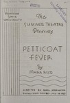 Petticoat Fever, 1937 by Montana State University (Missoula, Mont.). Montana Masquers (Theater group)