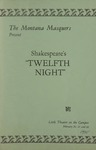 Twelfth Night, 1935 by Montana State University (Missoula, Mont.). Montana Masquers (Theater group)
