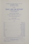Dinny and the Witches, 1967 by University of Montana (Missoula, Mont.: 1965-1994). Montana Masquers (Theater group)