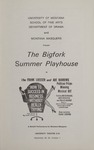 How to Succeed in Business Without Really Trying, 1966 by University of Montana (Missoula, Mont.: 1965-1994). Montana Masquers (Theater group)
