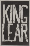 King Lear, 1962 by Montana State University (Missoula, Mont.). Montana Masquers (Theater group)