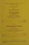 Endgame; A Slight Ache, 1969 by University of Montana (Missoula, Mont.: 1965-1994). Montana Masquers (Theater group)