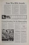 UM Profiles, October 1970