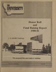 The University, July 1981