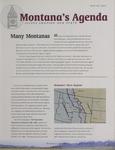 Montana's Agenda, Winter 2005