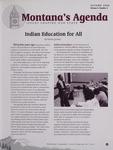 Montana's Agenda, Autumn 2006 by University of Montana--Missoula