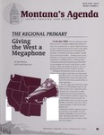 Montana's Agenda, Winter 2007 by University of Montana--Missoula