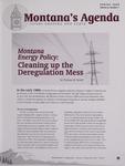 Montana's Agenda, Spring 2008 by University of Montana--Missoula