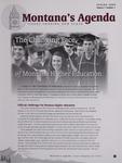 Montana's Agenda, Spring 2009 by University of Montana--Missoula