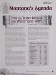 Montana's Agenda, Summer 2010