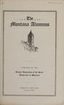 The Montana Alumnus, December 1922