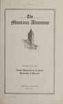 The Montana Alumnus, March 1923