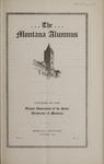 The Montana Alumnus, October 1923