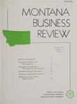 Montana Business Review, 1958