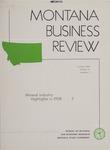 Montana Business Review, 1959