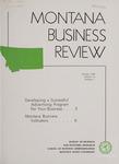 Montana Business Review, 1960