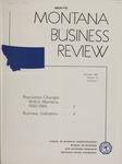 Montana Business Review, 1961