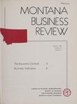 Montana Business Review, 1962