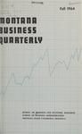 Montana Business Quarterly, Fall 1964