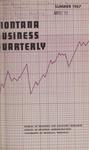 Montana Business Quarterly, Summer 1967