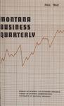 Montana Business Quarterly, Fall 1968