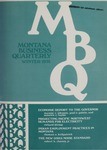 Montana Business Quarterly, Winter 1975