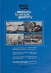 Montana Business Quarterly, Winter 1976