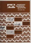 Montana Business Quarterly, Fall 1976