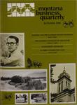 Montana Business Quarterly, Fall 1980