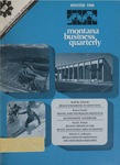 Montana Business Quarterly, Winter 1980