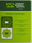 Montana Business Quarterly, Spring 1981