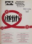 Montana Business Quarterly, Fall 1981