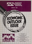 Montana Business Quarterly, Spring 1982