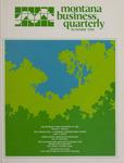 Montana Business Quarterly, Summer 1984