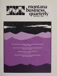 Montana Business Quarterly, Winter 1984
