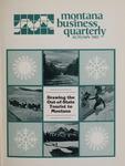 Montana Business Quarterly, Fall 1985