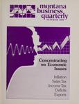 Montana Business Quarterly, Summer 1986